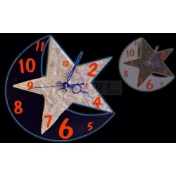 Star Moon Clock