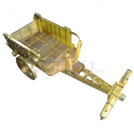Handicraft Wooden Cart