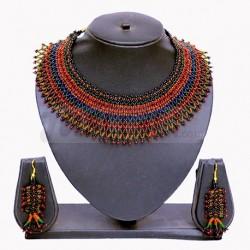 Black & Red Beaded Jewellery