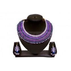 Magenta Beaded Jewellery
