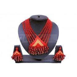 Red Beaded Jewellery
