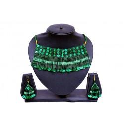Green Beaded Jewellery