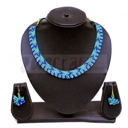 Light Sky Blue Beaded Jewellery